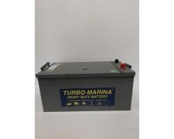 Turbo marina 12v 230ah SHD  onderhoudsvrij calcium