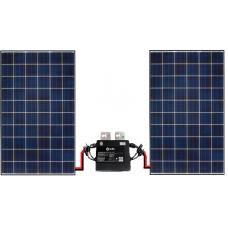 Set 2x zonnepaneel 270Wp + YC500 omvormer