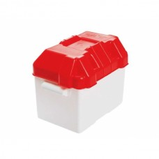 Accubak Klein Rode deksel