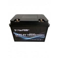 Solarfam LiFePo4 24 Volt 100Ah