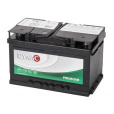 DYNAC Premium 12V 74Ah 680EN 57412L