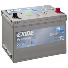 EXIDE Premium 75Ah CCA 630EN EA754