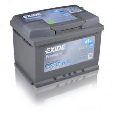 EXIDE Premium 61Ah CCA 600EN EA612