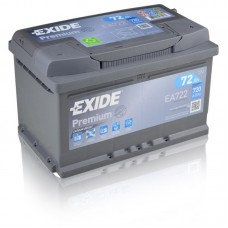 EXIDE Premium 72Ah CCA 720EN EA722