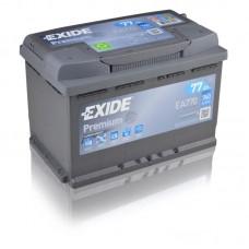 EXIDE Premium 77Ah CCA 760EN EA770