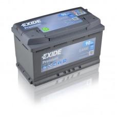 EXIDE Premium 90Ah CCA 720EN EA900