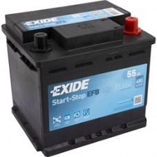 Exide Start Stop EFB accu 12V 55Ah
