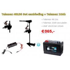 Talamex 48LBS Set aanbieding met Talamex acculader