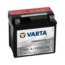 VARTA AGM YTX5L-4 / YTX5L-BS 80 EN