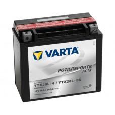VARTA AGM YTX20L-4 / YTX20L-BS 250 EN