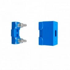 Zekeringhouder blauw voor MEGA zekering 2xM8