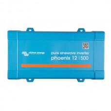 Victron Phoenix omvormer12/500 Schuko outlet