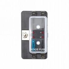 Zekering distributor 4 met led signalering / opbouw