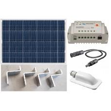 Recreatie set zonnepaneel 100WP
