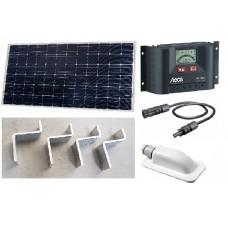 Recreatie set zonnepaneel 150WP